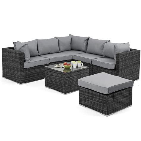 outdoor sofa sets uk maze rattan outdoor corner sofa set gardener