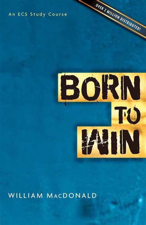 Born To Win born to win emmaus correspondence school