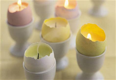 candele pasquali pasqua candele con le uova
