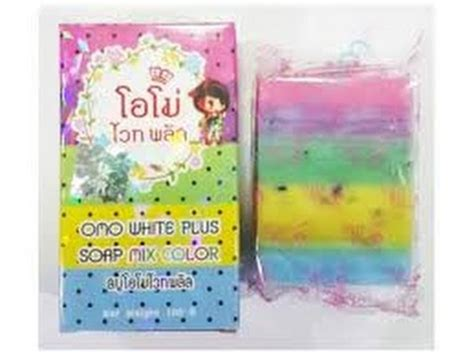 Sabun Omo White Plus omo white plus soap mix color