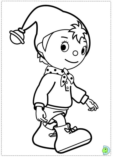 noddy coloring pages online noddy coloring page dinokids org