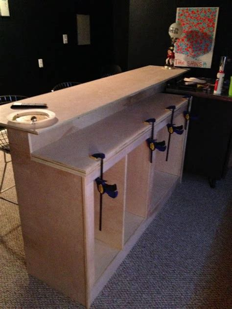 how to build a kitchen island bar best 25 build a bar ideas on pinterest man cave diy bar