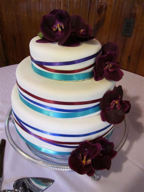 Wedding Cake Ribbon by Ribbon Wedding Cake Cakecentral