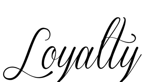 tattoo lettering loyalty tattoo designs loyalty images pictures becuo body