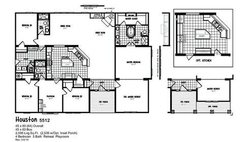 triple wide mobile home floor plans las brisas floorplan best 25 triple wide mobile homes ideas on pinterest