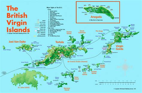 bvi map islands tourist map islands mappery