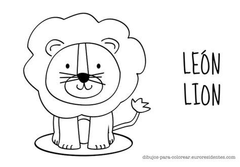 imagenes de leones infantiles para colorear the gallery for gt leon dibujo infantil