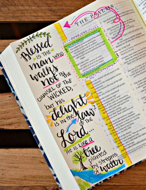 1 Year Bible Journal by Bible Journaling And A Giveaway Latta Creations