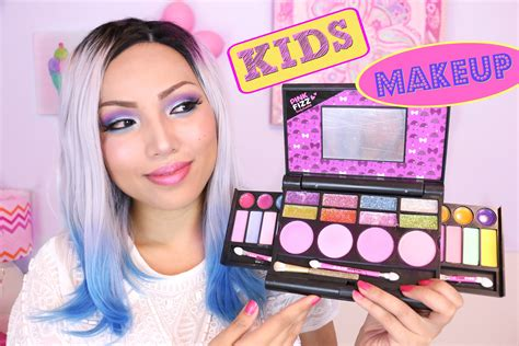 what make up does posha use full face using only kids makeup youtube