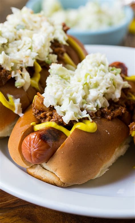 slaw dogs carolina style slaw dogs spicy southern kitchen