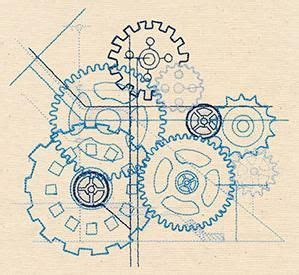 tattoo machine blueprints 26 best gears svg images on pinterest drawings