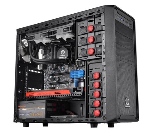 Thermaltake Versa G2 Casing thermaltake launches versa g1 g2 mid tower cases