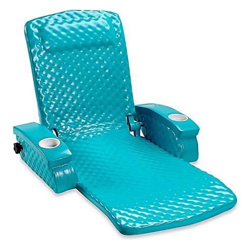 super soft adjustable recliner buy super soft 174 adjustable pool recliner in tropical teal
