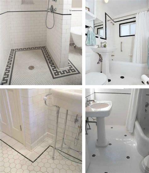 vintage subway tile bathroom 81 best tiled images on pinterest bathrooms flooring