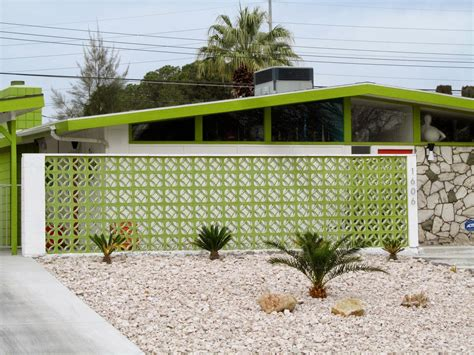 decorative concrete blocks paradise palms 02 23 14 mid century palm