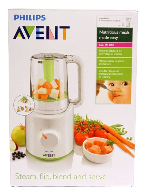Blender Makanan Bayi Baby Safe philips avent blender steamer asisten ideal mpasi