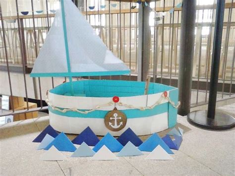 cardboard boat tutorial diy cardboard boat barco de cart 243 n para molly market www
