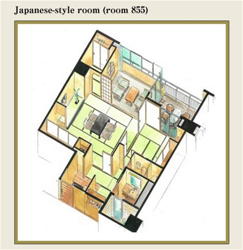 Japanese Style House Plans rooms suimeikan