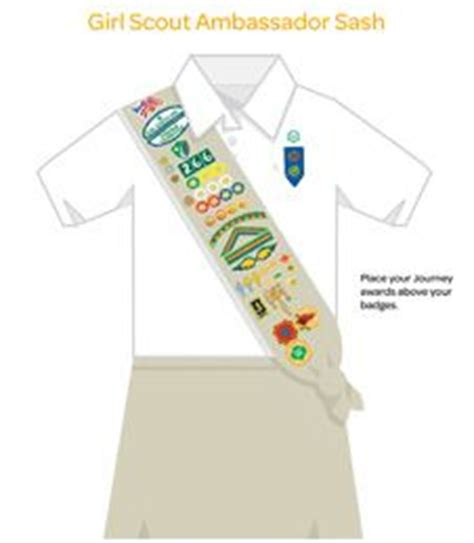 scout junior sash diagram here s the gs brownie sash note the safety award