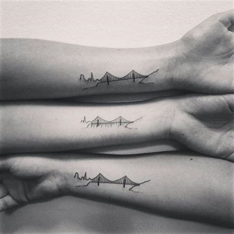 golden gate bridge tattoo 25 best ideas about bridge on