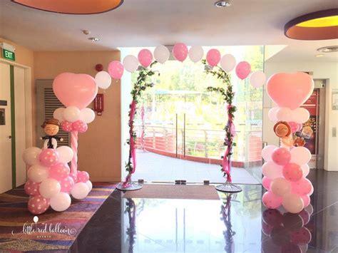 Wedding Balloon Arch by Premium Balloon Arch In Singapore Balloon