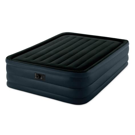 intex raised downy airbed with built in electric