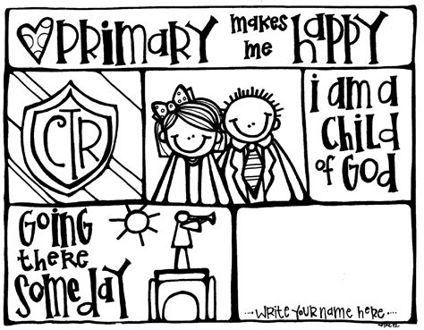 Primary Coloring Pages lds coloring pages priesthood