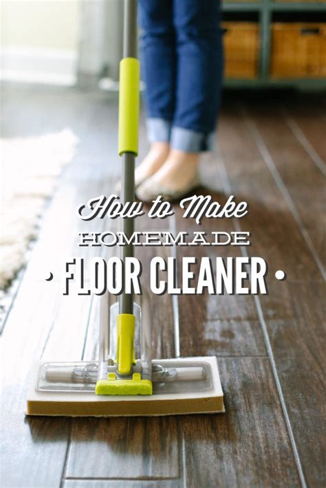 how to make floor cleaner vinegar based live