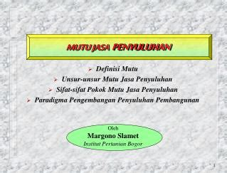 Pengantar Manajemen Dr Hb Siswanto Msi ppt manajemen jasa powerpoint presentation id 5162707