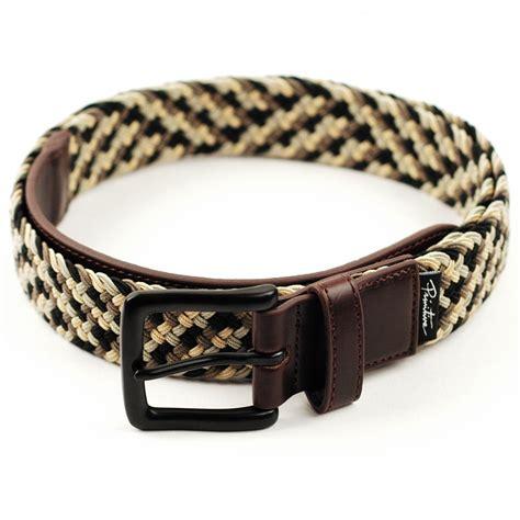 primitive nuevo woven belt brown khaki forty two