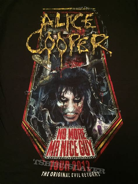 alice cooper mr nice guy alice cooper no more mr nice guy 2012 tour shirt