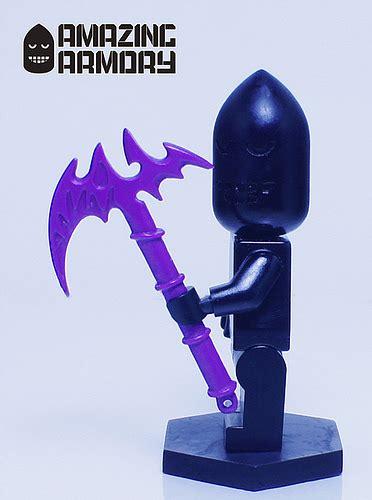 Brickforge Weapon Lancer ama axe custom custom lego minifigures