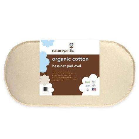 small crib mattress naturepedic mbv1329 organic cotton oval bassinet mattress