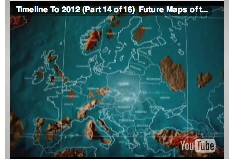 possible future map of europe after earth changes