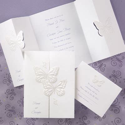 wedding invitations butterfly butterfly wedd ng
