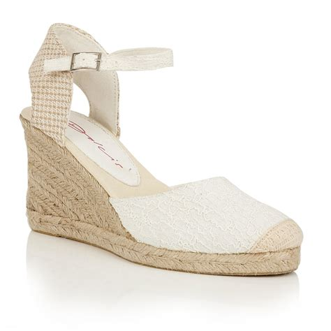 buy dolcis sommer wedge sandals white