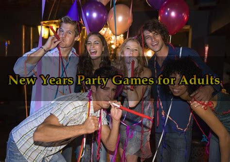 new years party games for adults