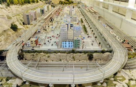 boat accessories wroxham train lover builds britain s largest indoor model railway
