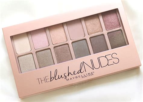 Maybelline The Blushed Palette maybelline the blushed palette collective