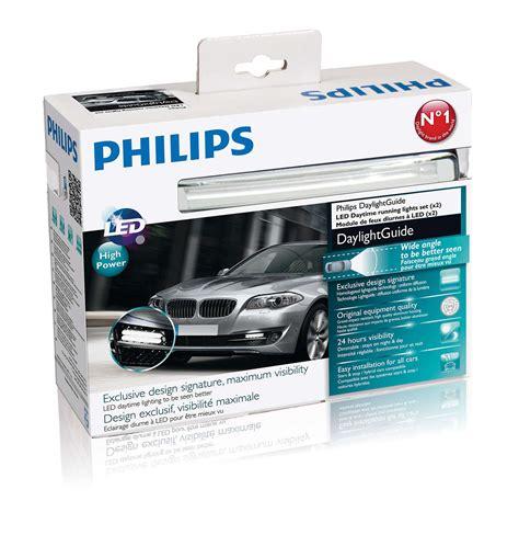 Led Drl Philips daylightguide led daytime running lights 12825wledx1 philips