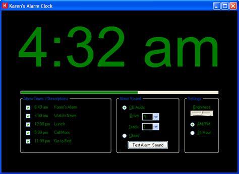 alarm clock  karens power tools  karens power