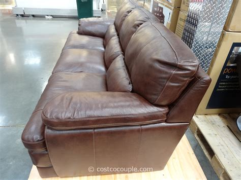 simon li bella leather sofa