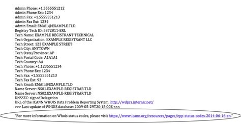 whois related requirements asia pacific global site
