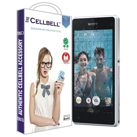 Tempered Glass Xperia Z1 Compact T0210 sony xperia z1 compact tempered screen glass cellbell