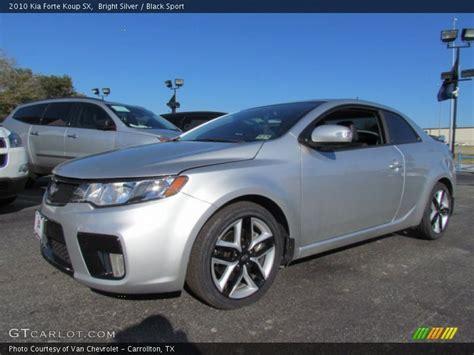 Kia Forte Silver 2010 Kia Forte Koup Sx In Bright Silver Photo No 57773355
