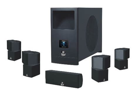 pyle home phsa5 5 1 home theater system with active