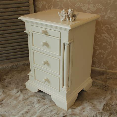 cream and wood bedroom furniture cream bedside cabinet table bedroom furniture solid wood