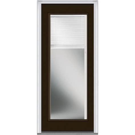 Doorbuild Internal Mini Blinds Collection Steel Prehung 30 Inch Exterior Door With Window