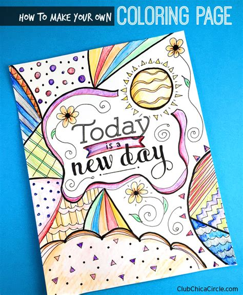 make your own coloring book free how to make your own inspirational coloring page club