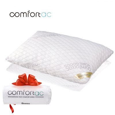 amazon com shredded memory foam pillow with stay cool king size shredded memory foam pillow by comfortac 33 18